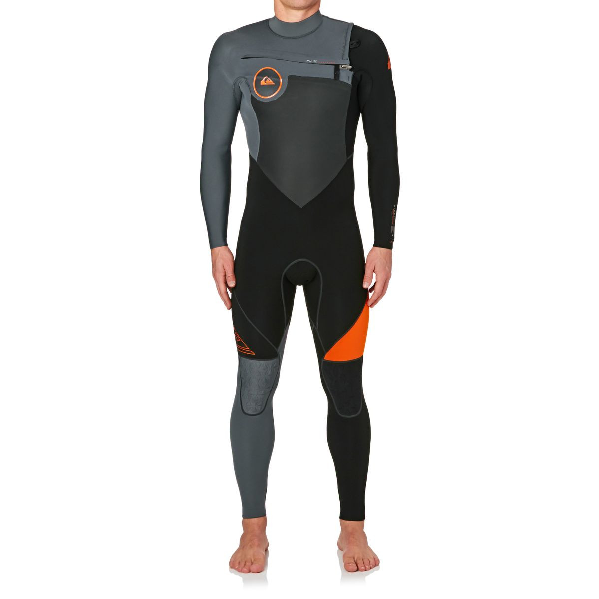 Quiksilver Highline Performance 3/2mm 2017 Chest Zip Wetsuit - Flame