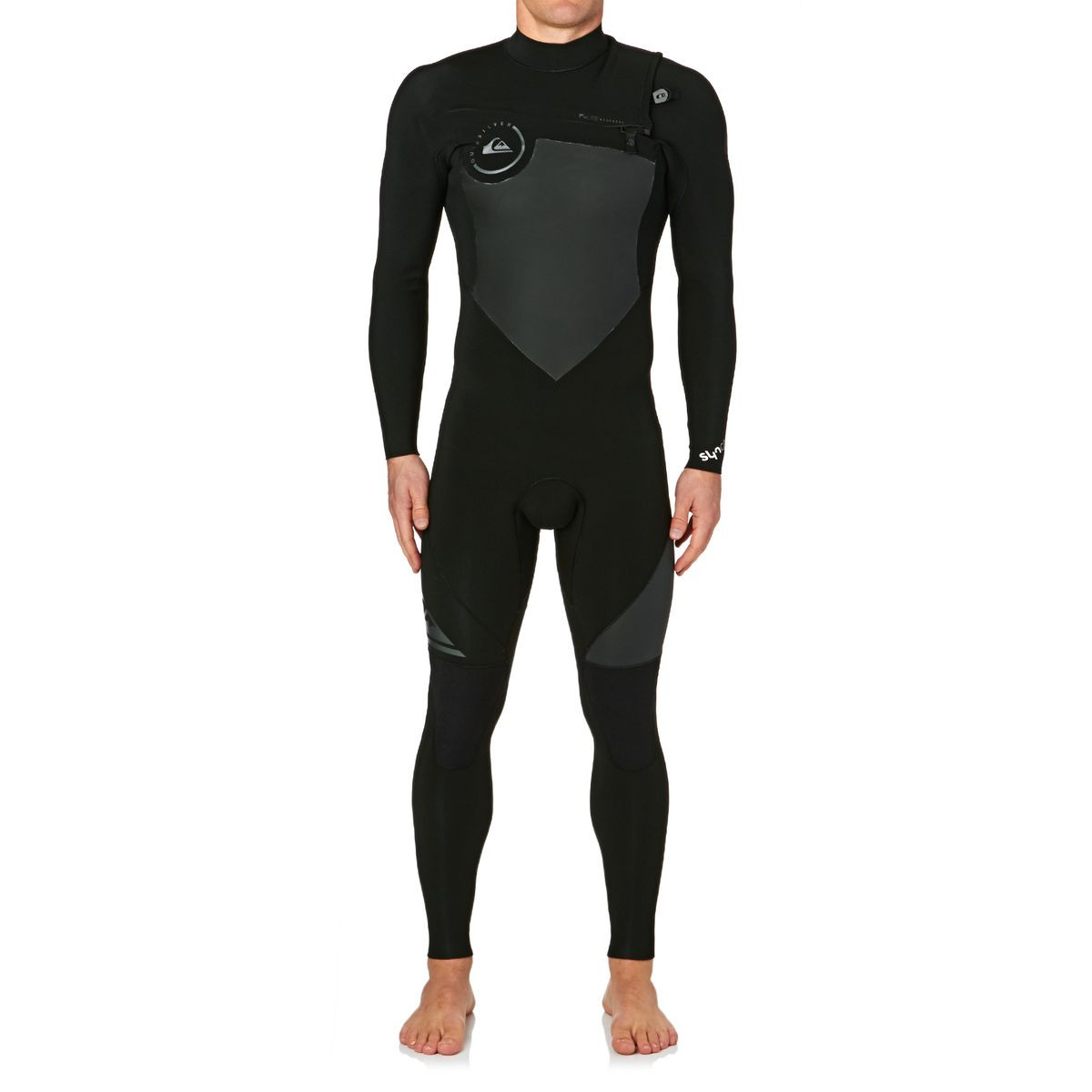 Quiksilver Syncro 3/2mm 2017 Chest Zip Wetsuit - Black