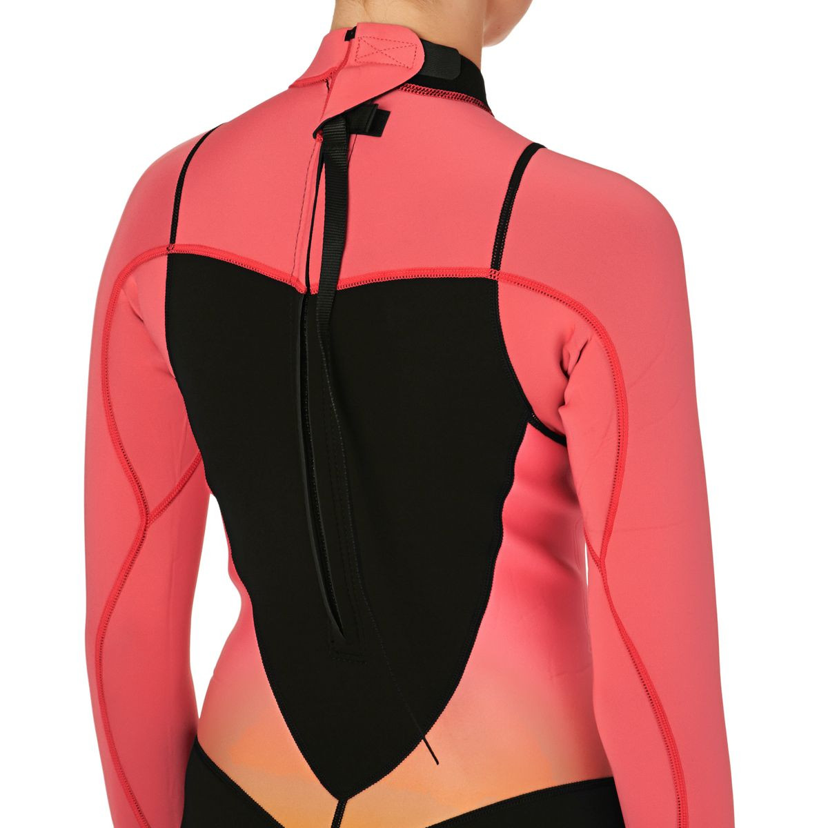 Roxy Womens Syncro 2mm Shorty Wetsuit - Paradise Pink