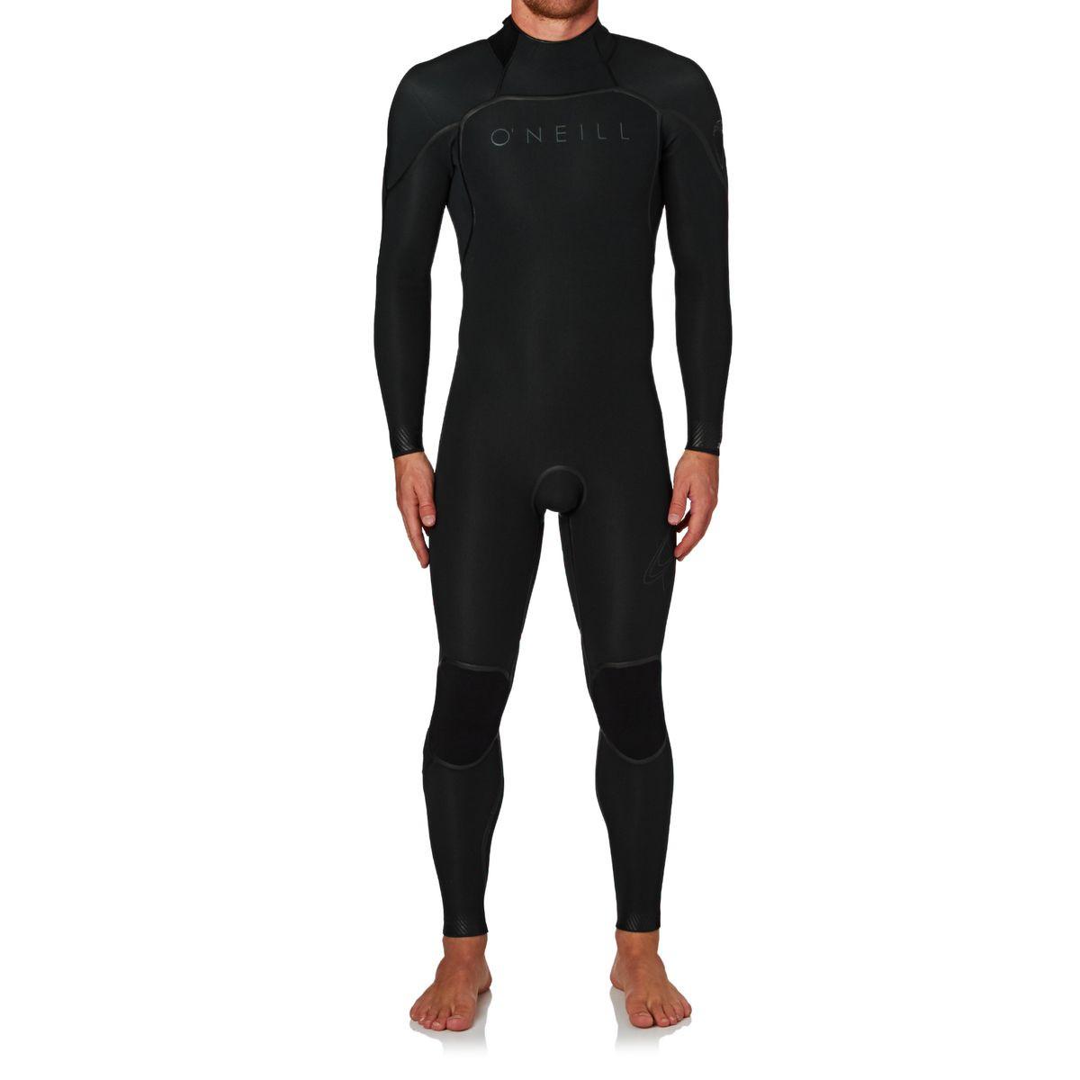 O'Neill Psycho One 3/2mm 2017 Back Zip Wetsuit - Black/ Black/ Graphite