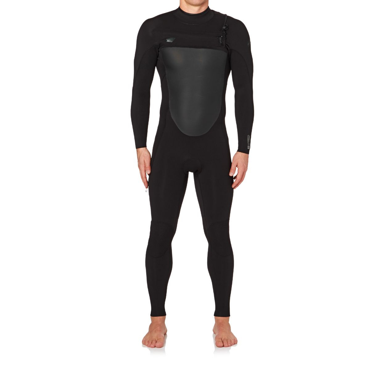 O'Neill Superfreak 3/2mm 2017 Chest Zip Wetsuit - Black/ Black/ Black