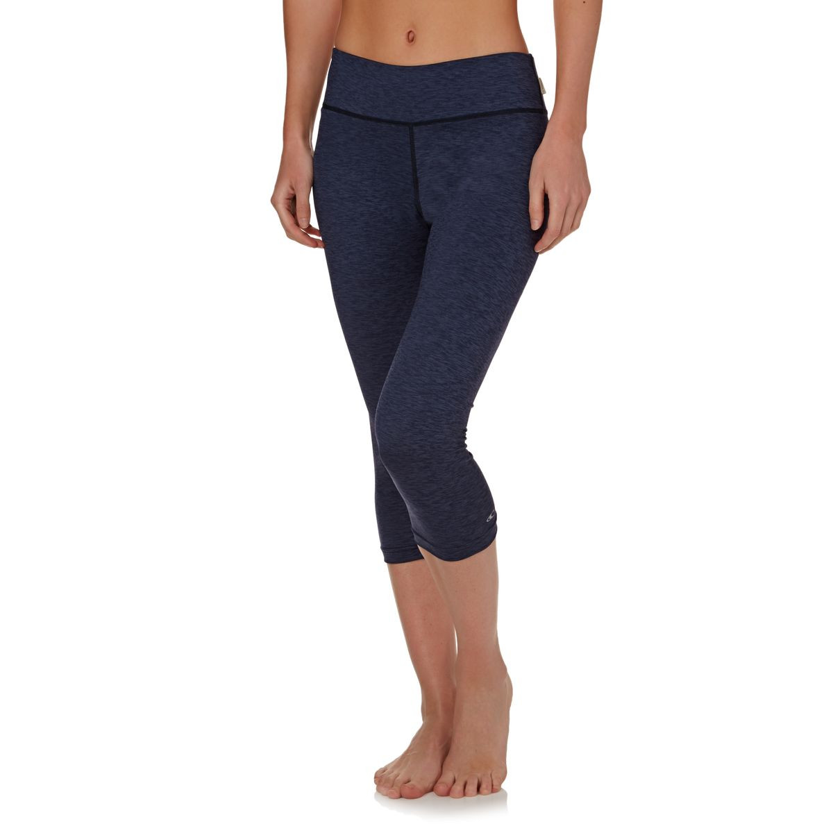 O'Neill Womens Hybrid Surf Capri Leggings - Navy