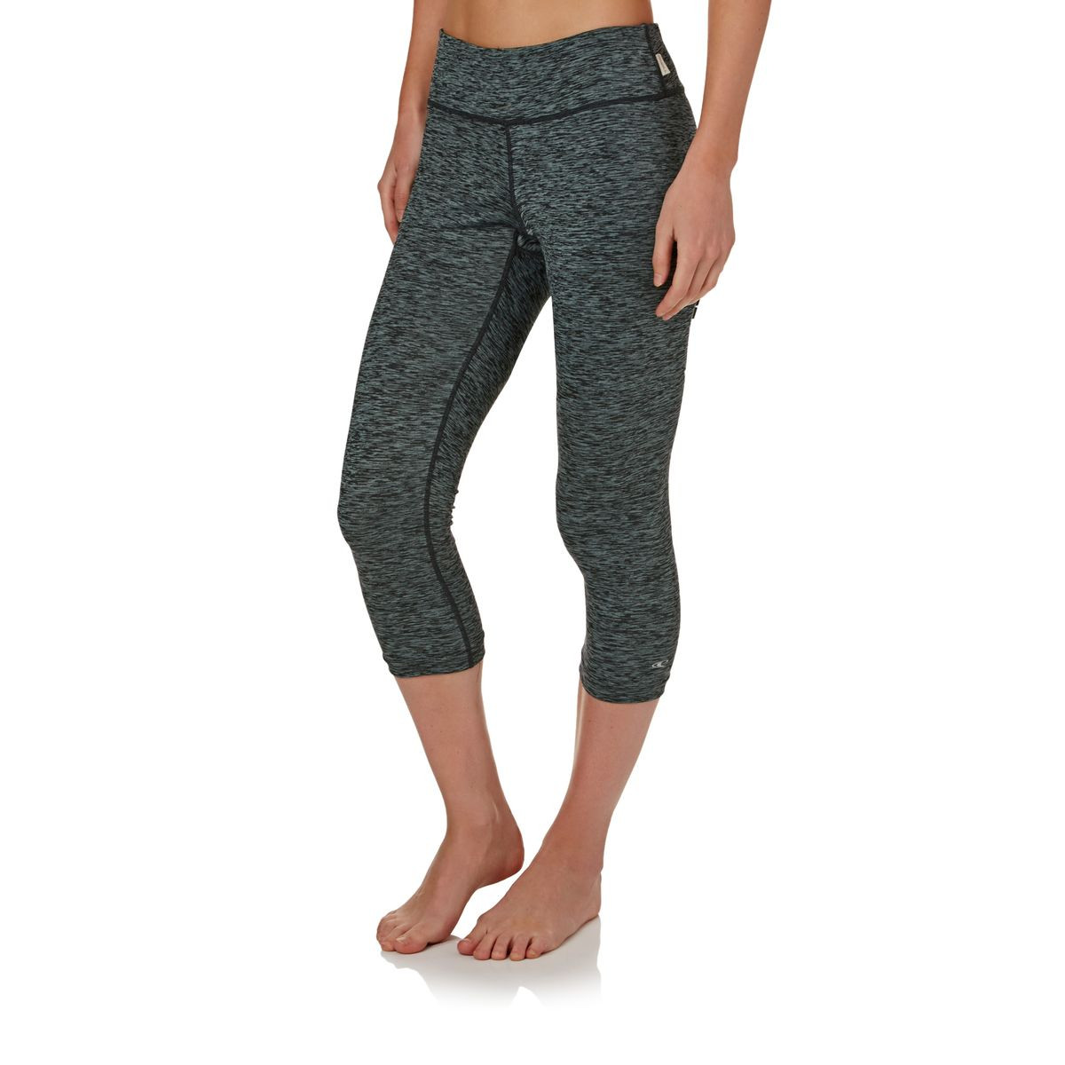 O'Neill Womens Hybrid Surf Capri Surf Leggings - Graphite