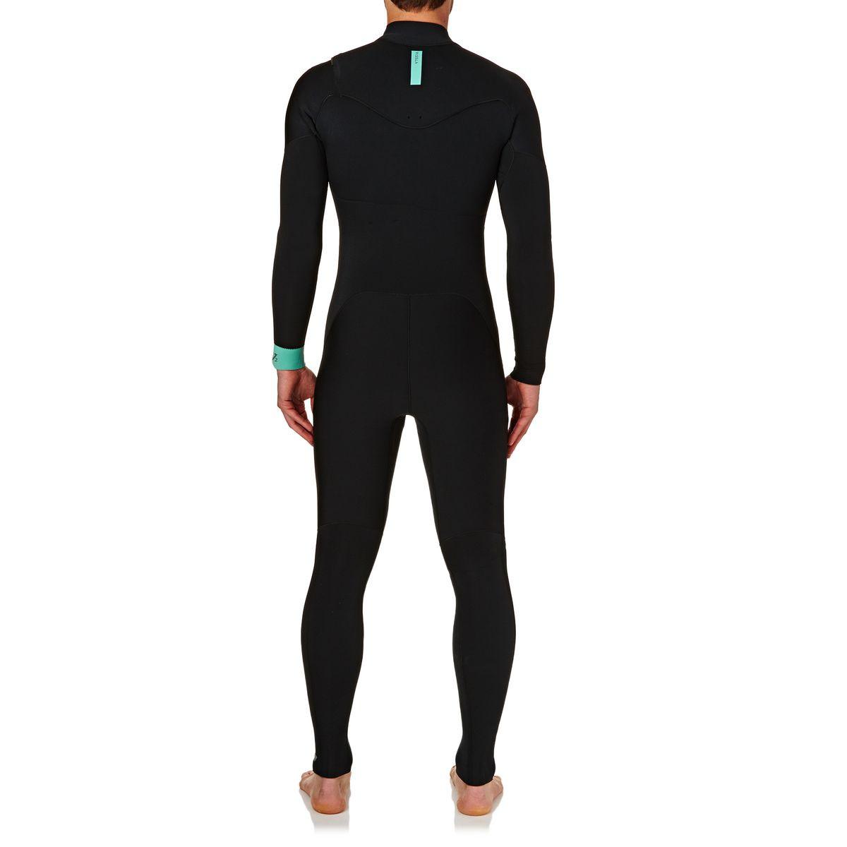 Vissla Bewet Chiba 3/2mm 2017 Chest Zip Wetsuit - Black