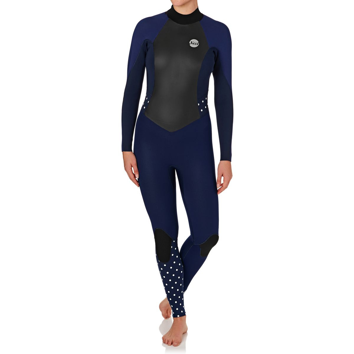 Xcel Womens 3/2mm Xplorer 2017 OS Back Zip Wetsuit - Ink Blue