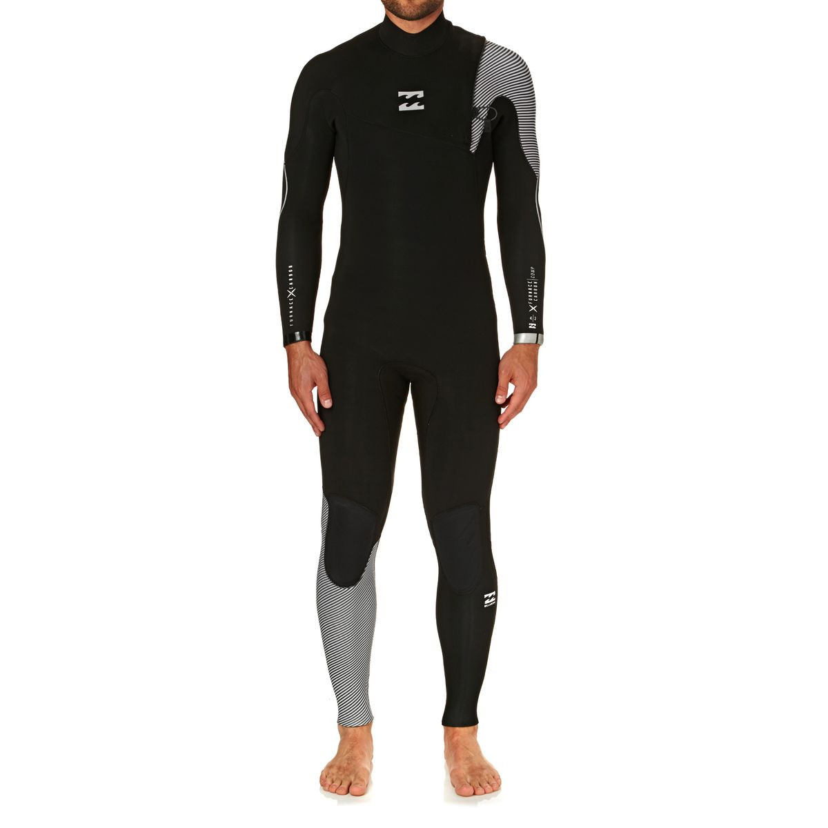 Billabong Furnace Comp 4/3mm 2018 Zipperless Wetsuit - Black