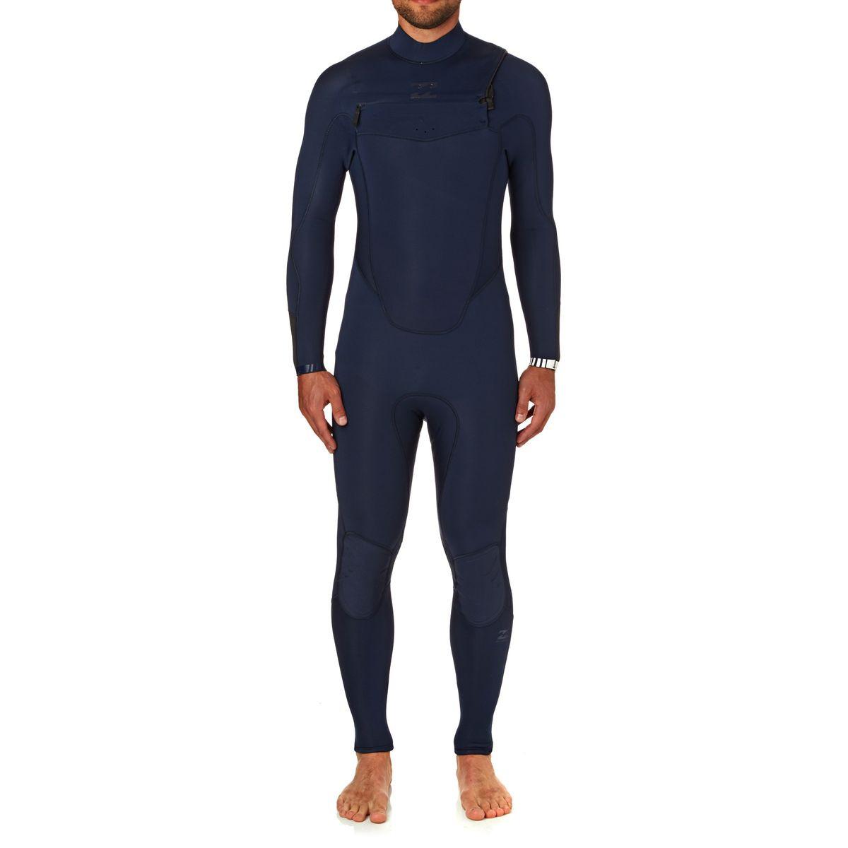 Billabong Absolute Comp 4/3mm 2018 Chest Zip Wetsuit - Navy