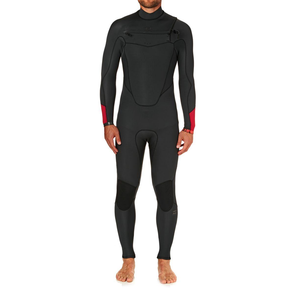 Billabong Absolute Comp 4/3mm 2018 Chest Zip Wetsuit - Asphalt