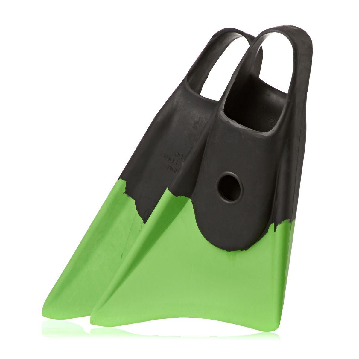 Churchill Makapuu Bodyboard Fins - Black/ Green