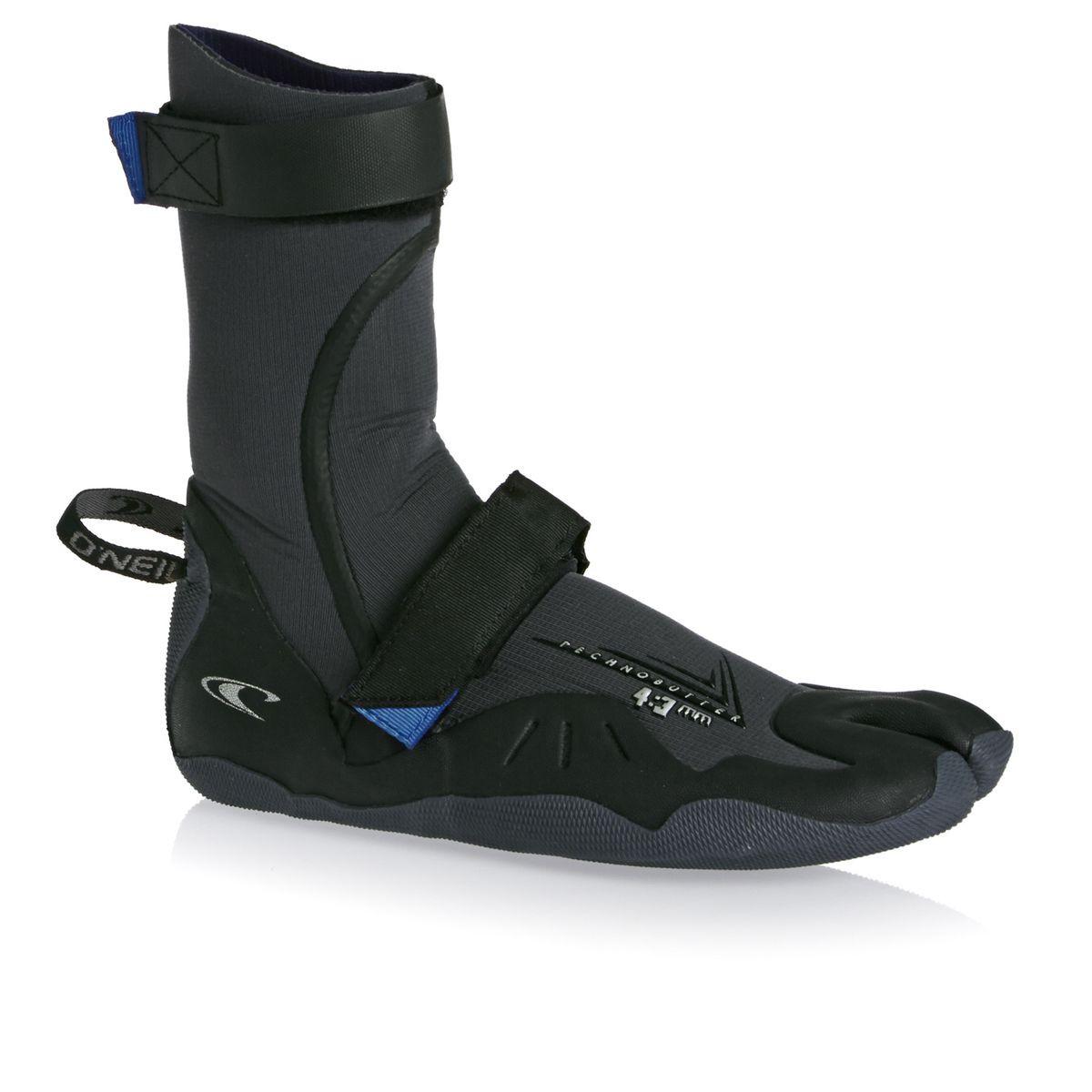 O'Neill Psycho 4/3mm Split Toe Wetsuit Boots - Black