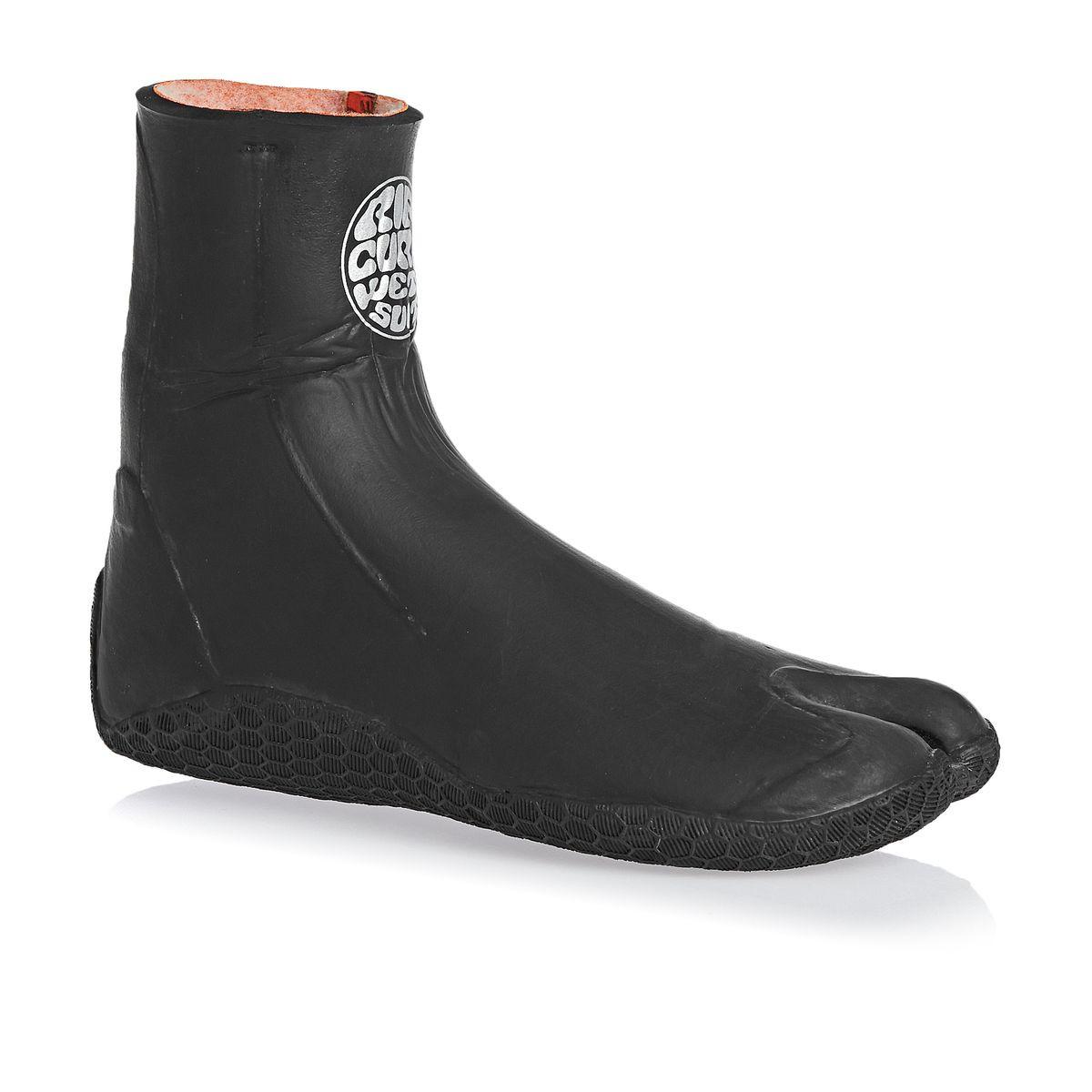 Rip Curl Rubber Soul Plus 5mm Split Toe Wetsuit Boots - Black