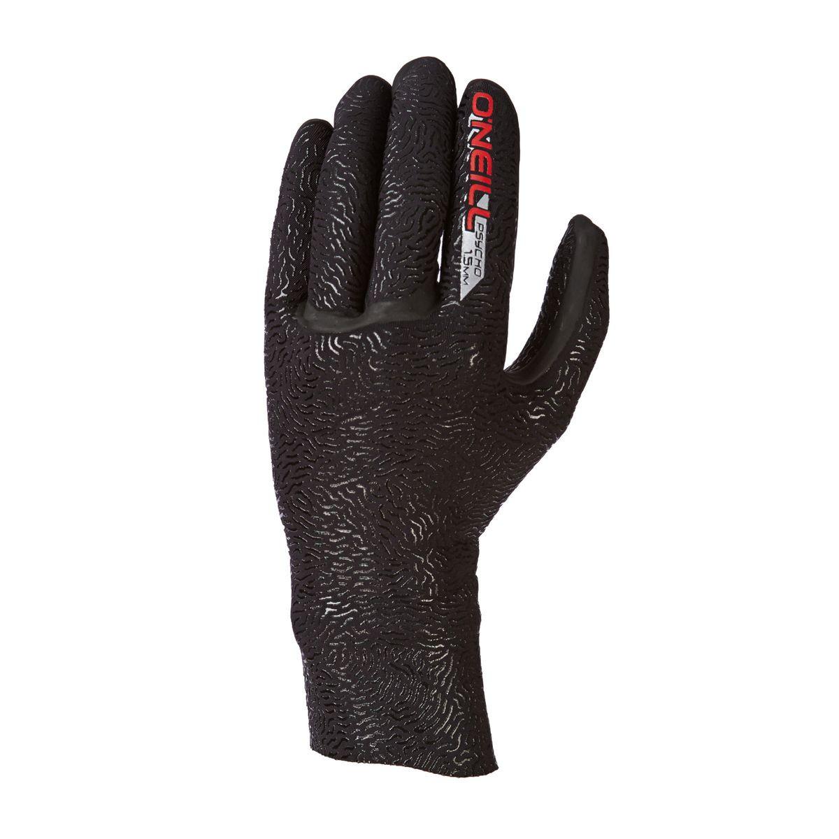 O'Neill Psycho DL 1.5mm 5 Finger Wetsuit Gloves - Black