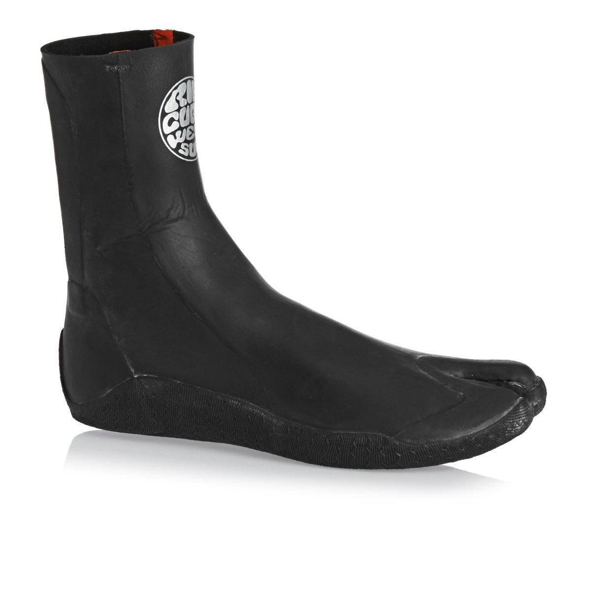 Rip Curl Rubber Soul 2mm Split Toe Wetsuit Boots - Black