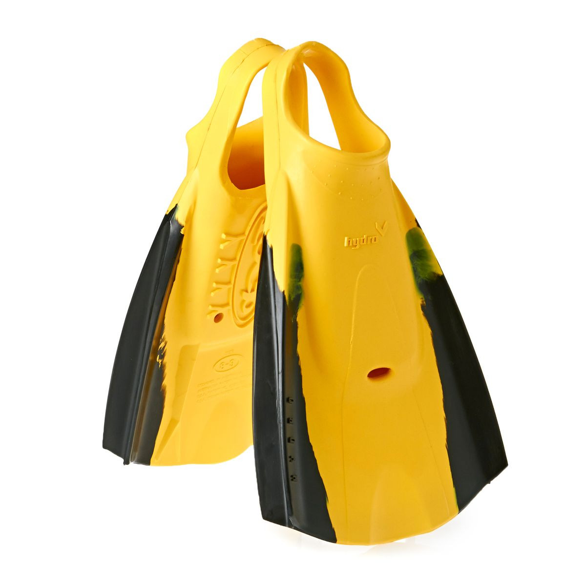 Hydro Tech Fin - Black/ Yellow