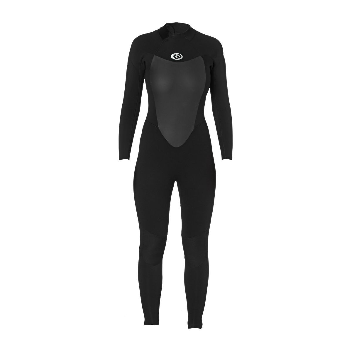 Rip Curl Womens Omega 4/3mm Back Zip Wetsuit - Black