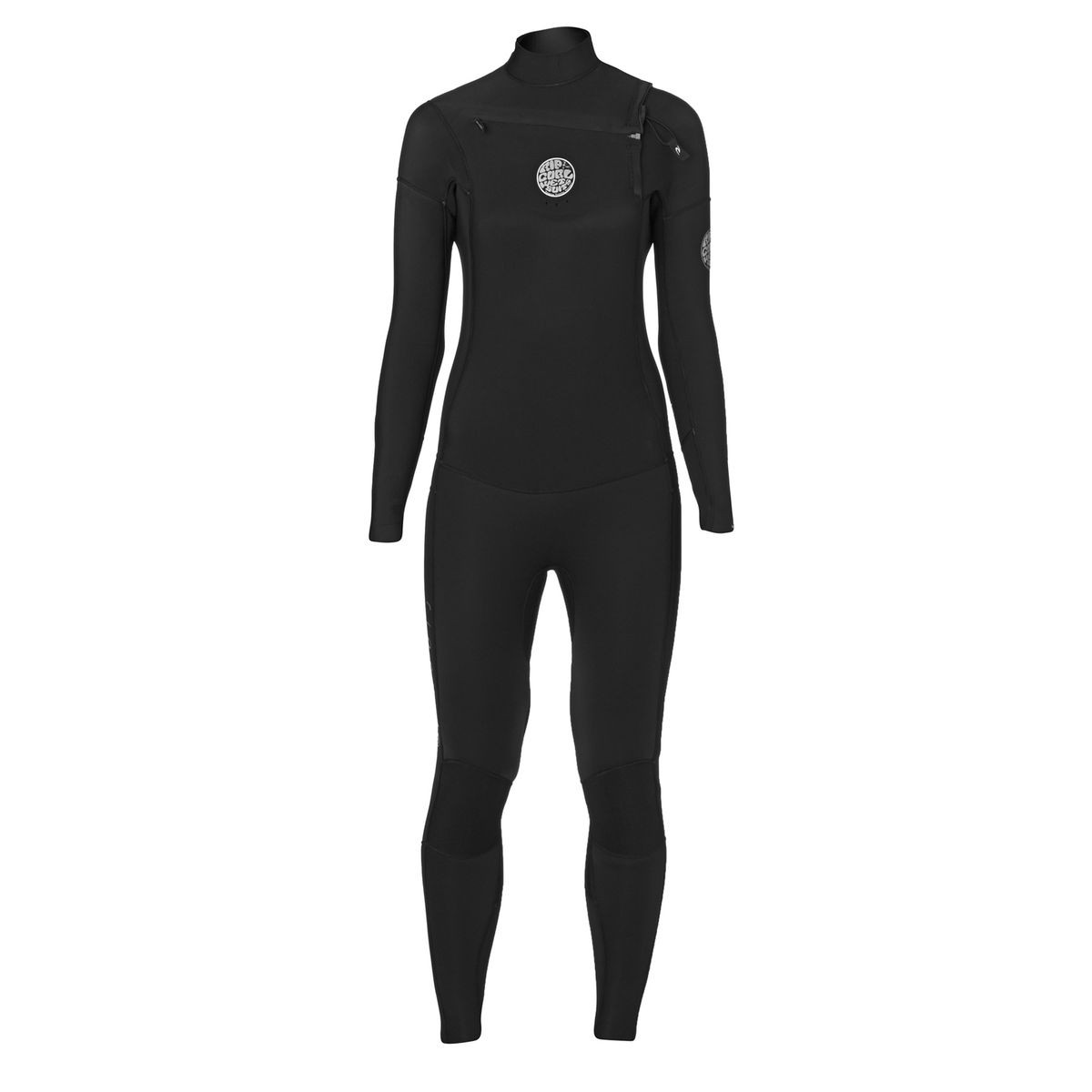 Rip Curl Womens Dawn Patrol 5/3mm 2017 Chest Zip Wetsuit - Black
