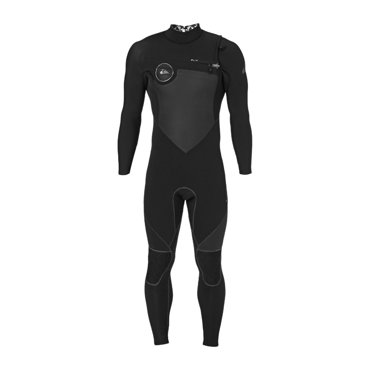 Quiksilver Highline Performance 4/3mm 2017 Chest Zip Wetsuit - Black