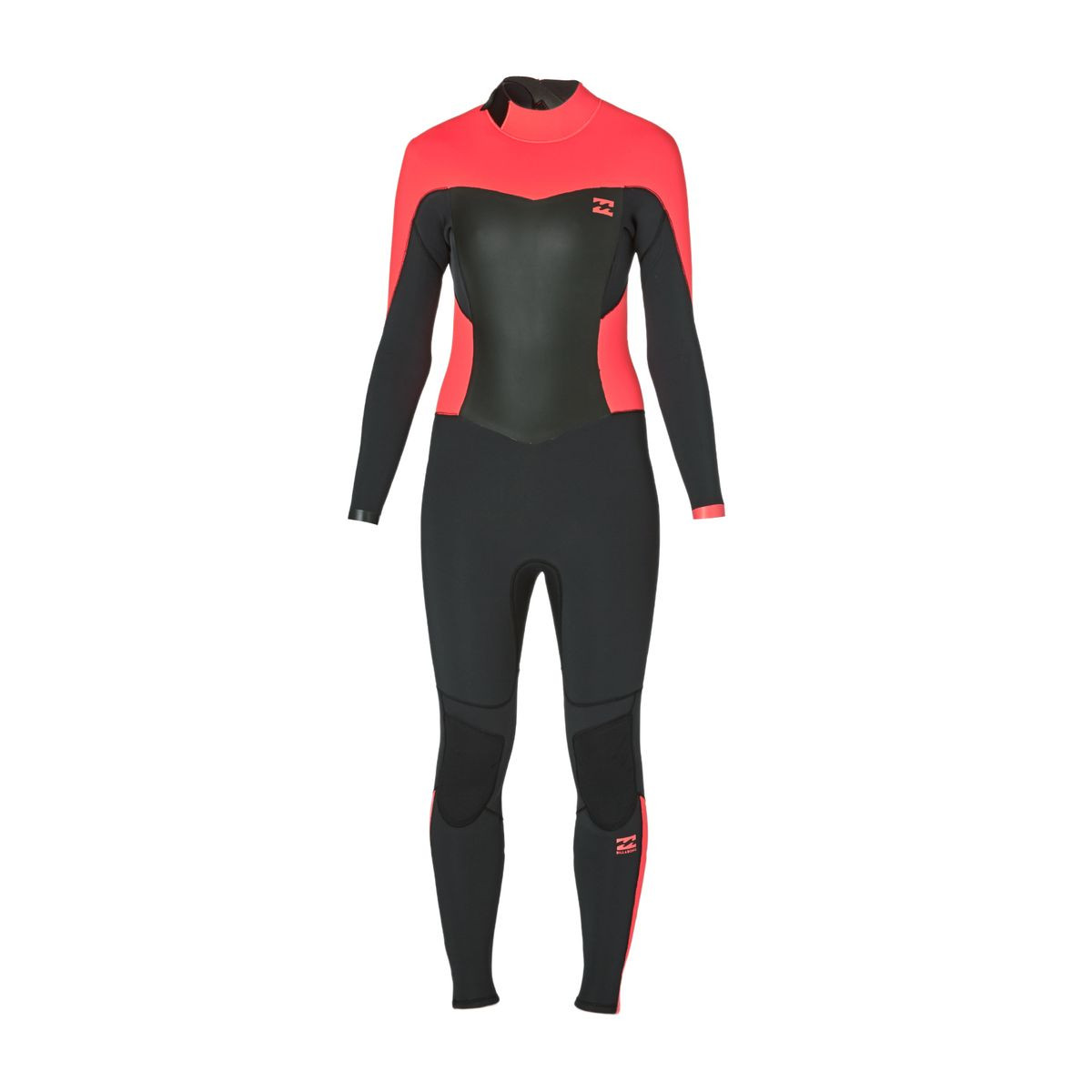 Billabong Synergy 4/3mm 2017 Back Zip Wetsuit - Coral Kiss