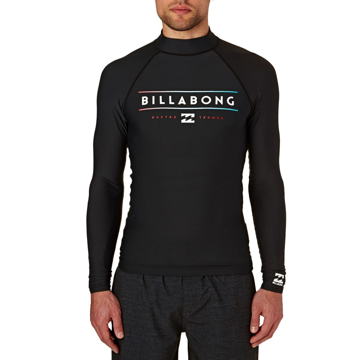 Billabong Unity Long Sleeve Rash Vest - Black