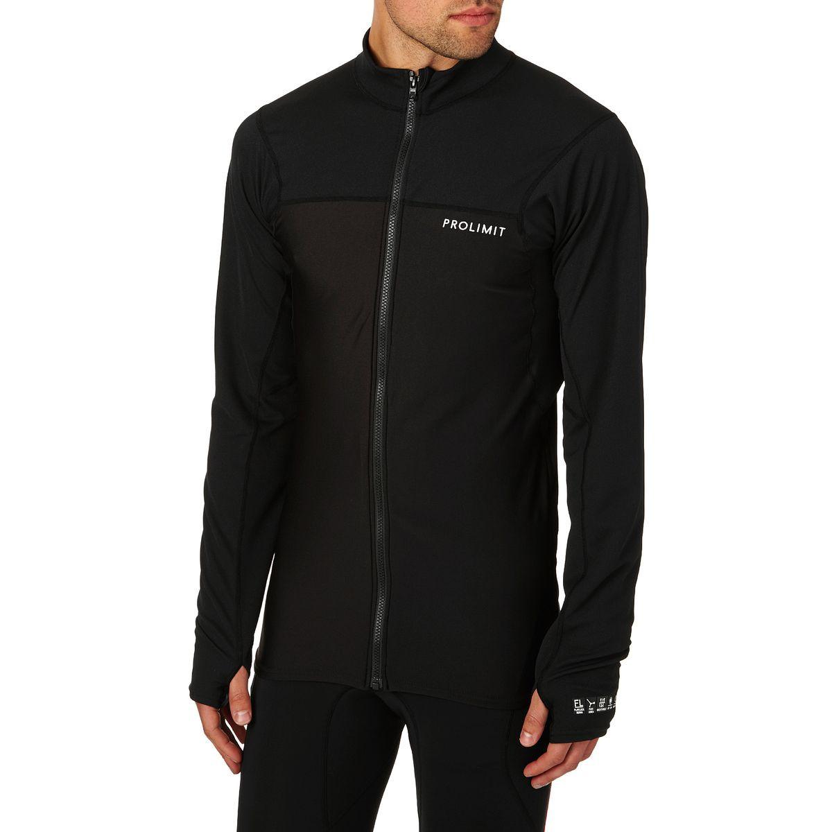 Prolimit SUP Quick Dry Wetsuit Jacket - Black/ White