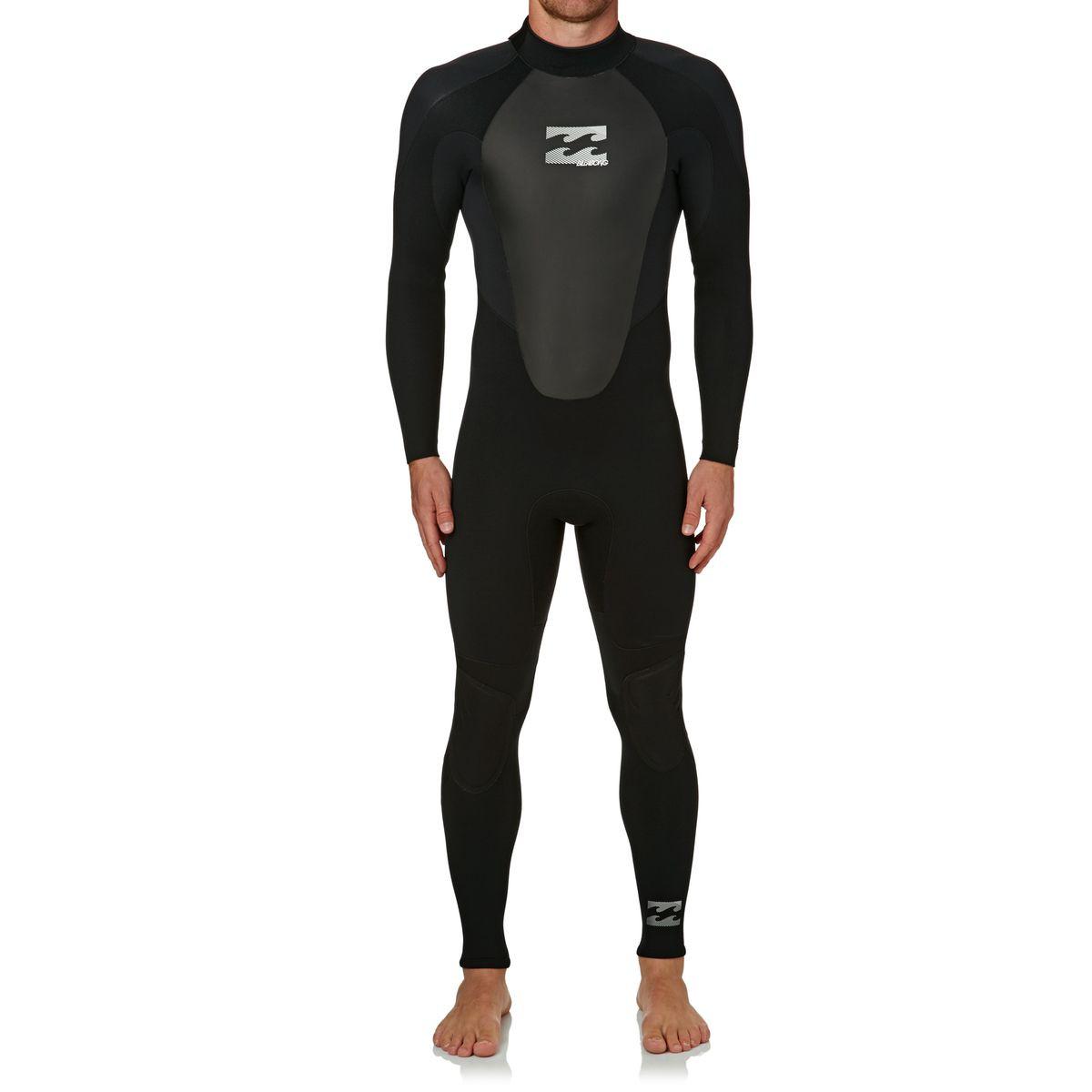 Billabong Intruder GBS 5/4mm 2018 Back Zip Wetsuit - Black