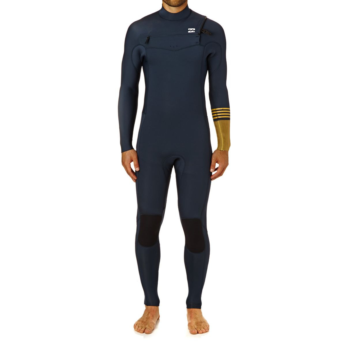Billabong Revolution Tri-bong 4/3mm 2018 Chest Zip Wetsuit - Slate